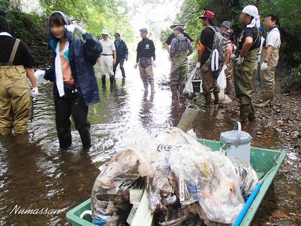 8月30日 柳瀬川クリーン作戦 & 柳瀬川祭り